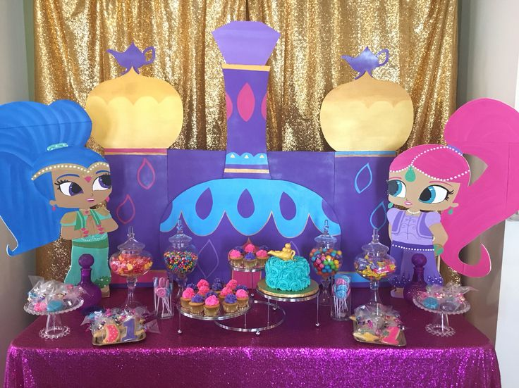 Cake Decorating Store Mesa : +1000 imagens sobre Shimmer and Shine Party Ideas no Pinterest Festas de aniversario, Genie in ...