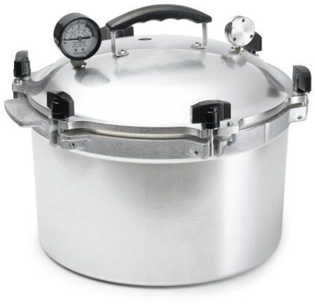 Amazon.com: All American 921 21-1/2-Quart Pressure Cooker/Canner: Kitchen & Dining