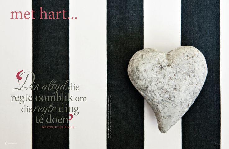 sement hart/ heart, swart strepe/ black stripe. Foto: Candice Askham www.leef.co.za