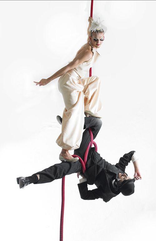 Yam & Leo - Duo Aerial Silk & Rope