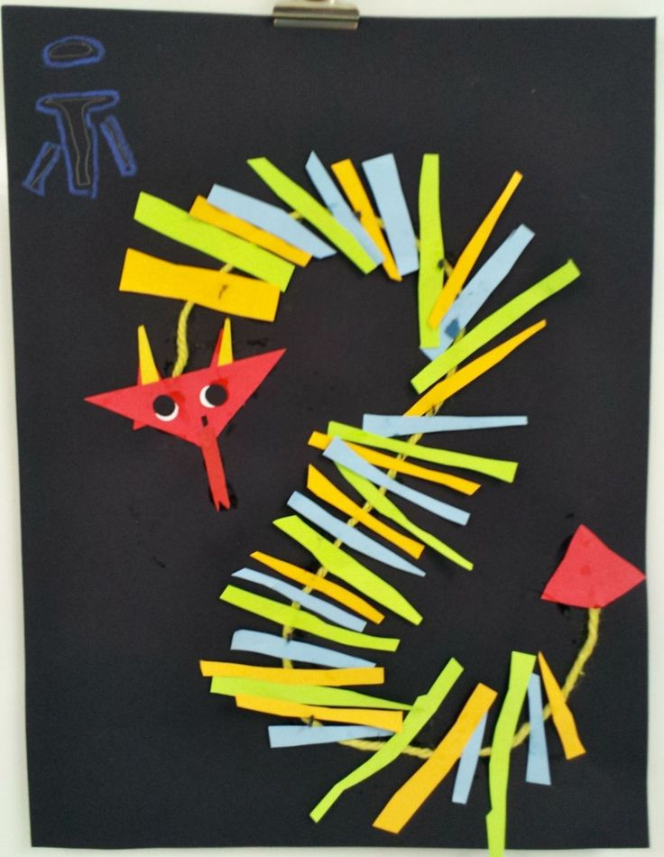 Art with Ms. Gram: Chinese New Year Dragons (1st/2nd)