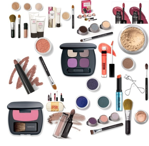 """bare essentials makeup"" by kkroontje on Polyvore"