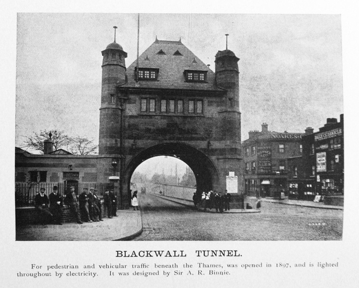 Blackwall Tunnel - c1905