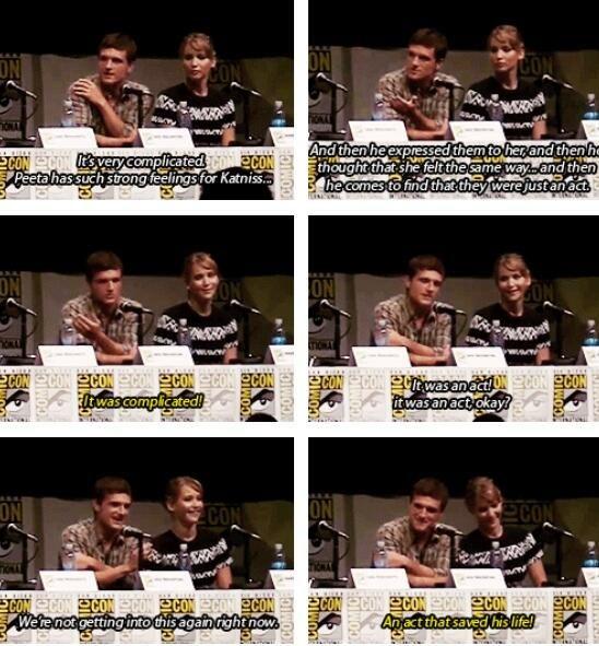 Josh Hutcherson and Jennifer Lawrence, everyone! :D