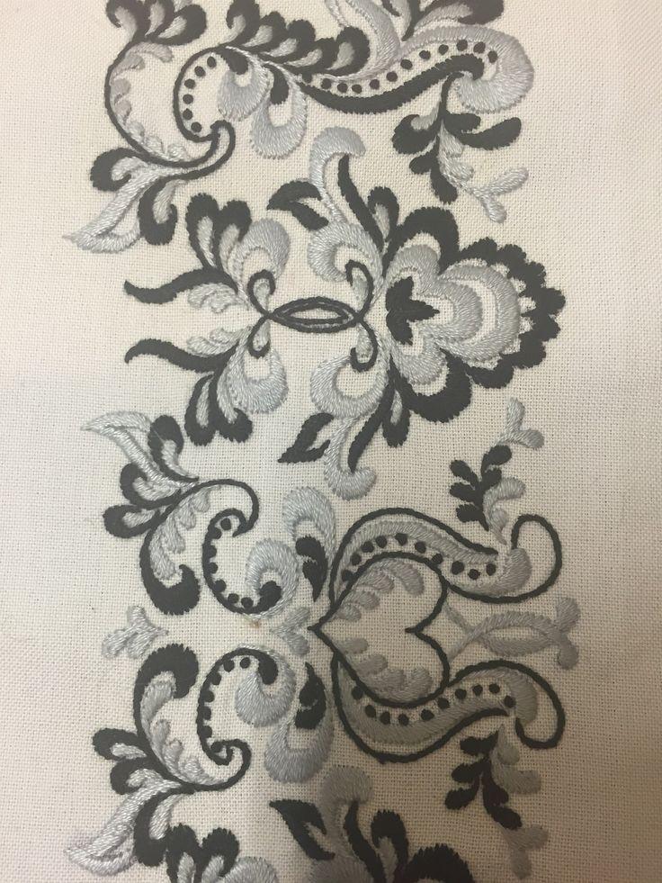 FINN – Skjorte til bunad fra Øst Telemark, prinsesse- eller ranke-mønster, NY