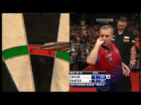 9 Darter Phil Taylor vs. Kevin Painter , 2012 in Aberdeen