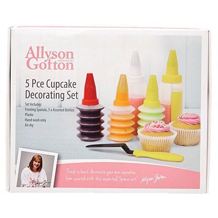 Allyson Gofton Cupcake Decorating Kit 5 Piece