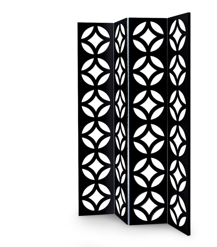 Jay Folding screen is divided in three tabs. Hinges are made from nickel-plated piano   www.bocadolobo.com #bocadolobo #luxuryfurniture #exclusivedesign #interiodesign #designideas #centertable #foldingscreen