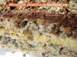 Киевский торт (очень вкусный!)