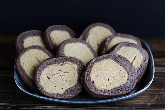 Buckeye Cookies #creativecookieexchange via Cookie Dough and Oven Mitt