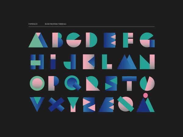 type-set, danish, modular