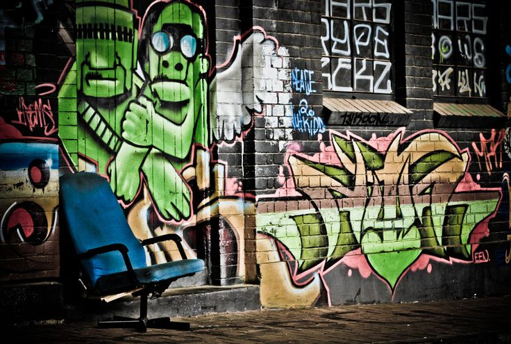 Johannesburg CBD, Newtown graffiti art