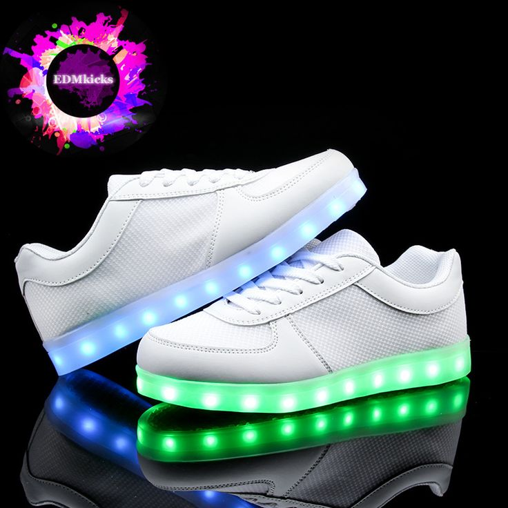 Led light up shoes glowing sneakers for adult luminous flats fashion men  women colorful,high