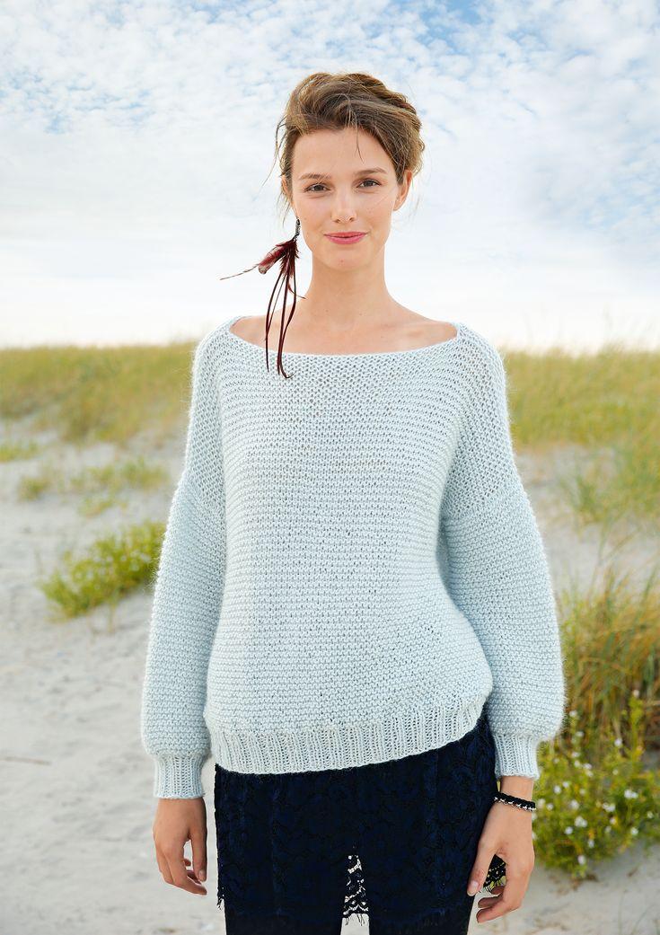weiter pullover let 39 s knit pinterest der pullover glanz und pullover. Black Bedroom Furniture Sets. Home Design Ideas