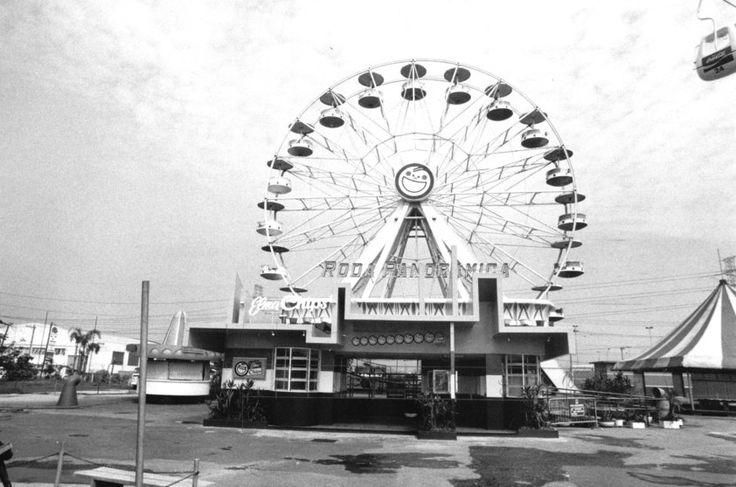Roda Gigante Panorâmica do Playcenter, em São Paulo (1980)