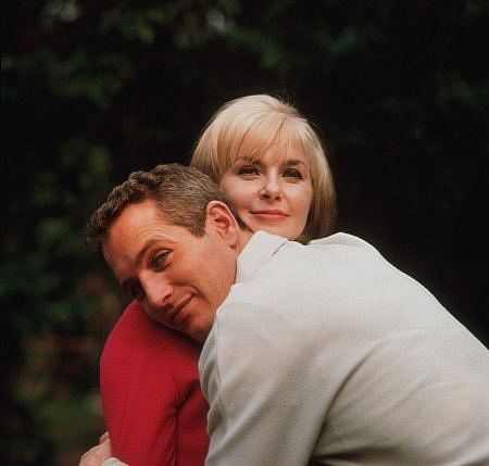 Joanne Woodward and Paul Newman...one Hollywood couple that made it for the long haul.