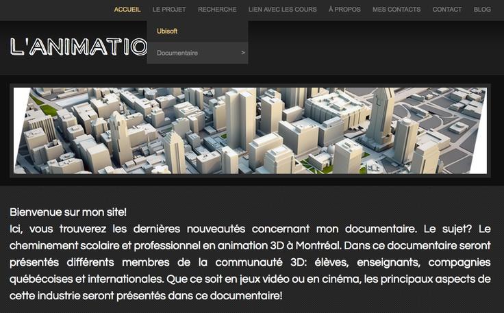 Ghislaine Menaceur et Sébastien Kishi - Documentaire sur les cheminements scolaires et professionnels en 3D et sur l'industrie des jeux vidéo -  Lachine CiSA - Québec