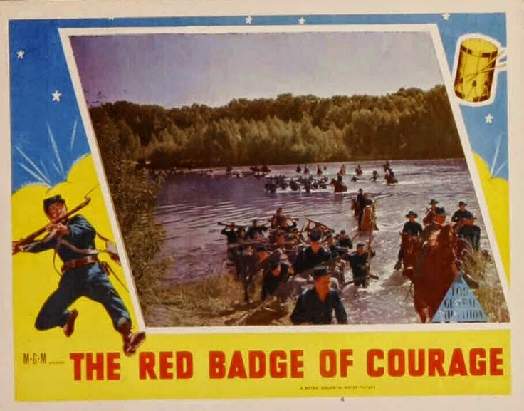 best the red badge of courage images badges 1951 medalla roja al valor the red badge of courage