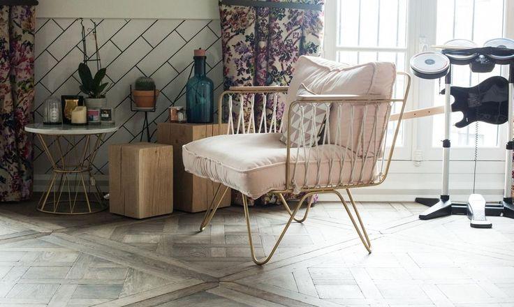 Honoré La Croisette chair in a colourful Paris apartment