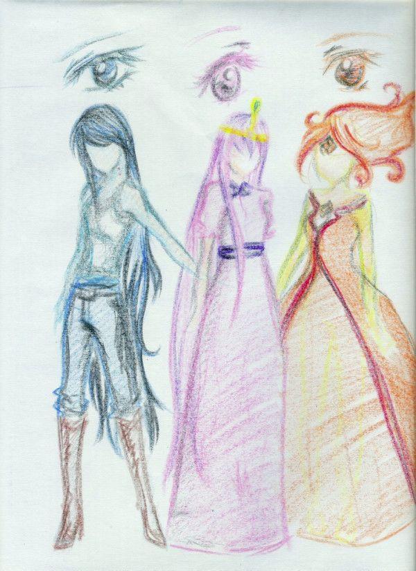 Adventure Time Characters Anime   www.pixshark.com ...