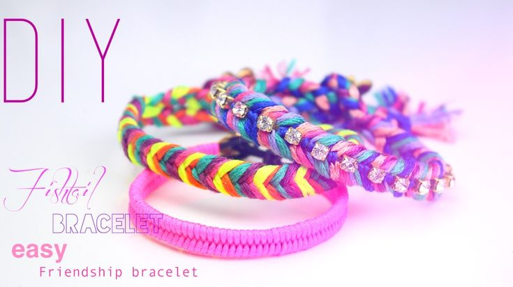 DIY | Do it yourself | By Isnata: DIY : Bracelets brésiliens tresse en épi de blé (fishtail bracelet)