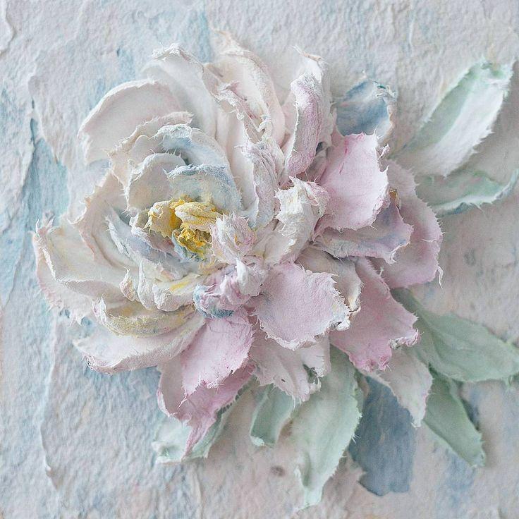Картина 3 из 9 для @juliana_tula Размер картинки малышки всего 15см × 15см Хорошего солнечного настроения вам!!! #скульптурнаяживопись #объемноепанно #объемнаяживопись #декоративнаяштукатурка #vscorussia #flowers #творчество #живопись #картина #картинасцветами #картинаназаказ #тула