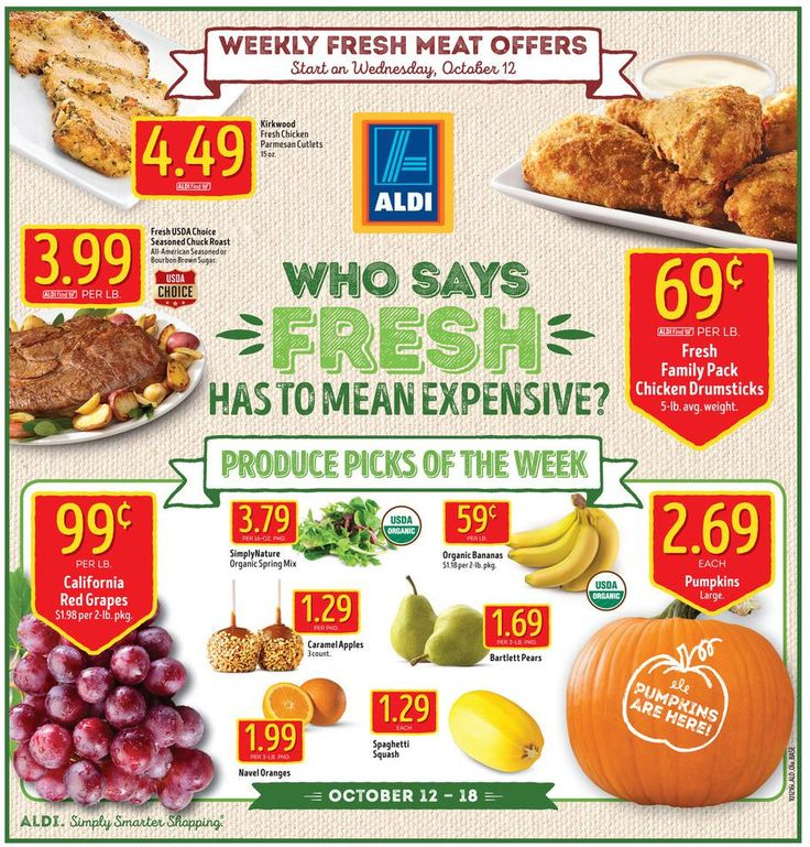 Aldi Weekly Ad October 26 - November 1, 2016 - http://www.olcatalog.com/grocery/aldi-ad.html