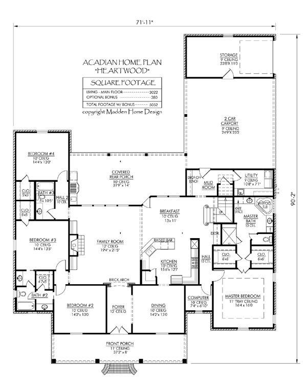 133 Best Floor Plans Images On Pinterest House Floor