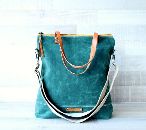 Hey, I found this really awesome Etsy listing at https://www.etsy.com/listing/233393553/on-sale-waxed-canvas-tote-bag-unisex
