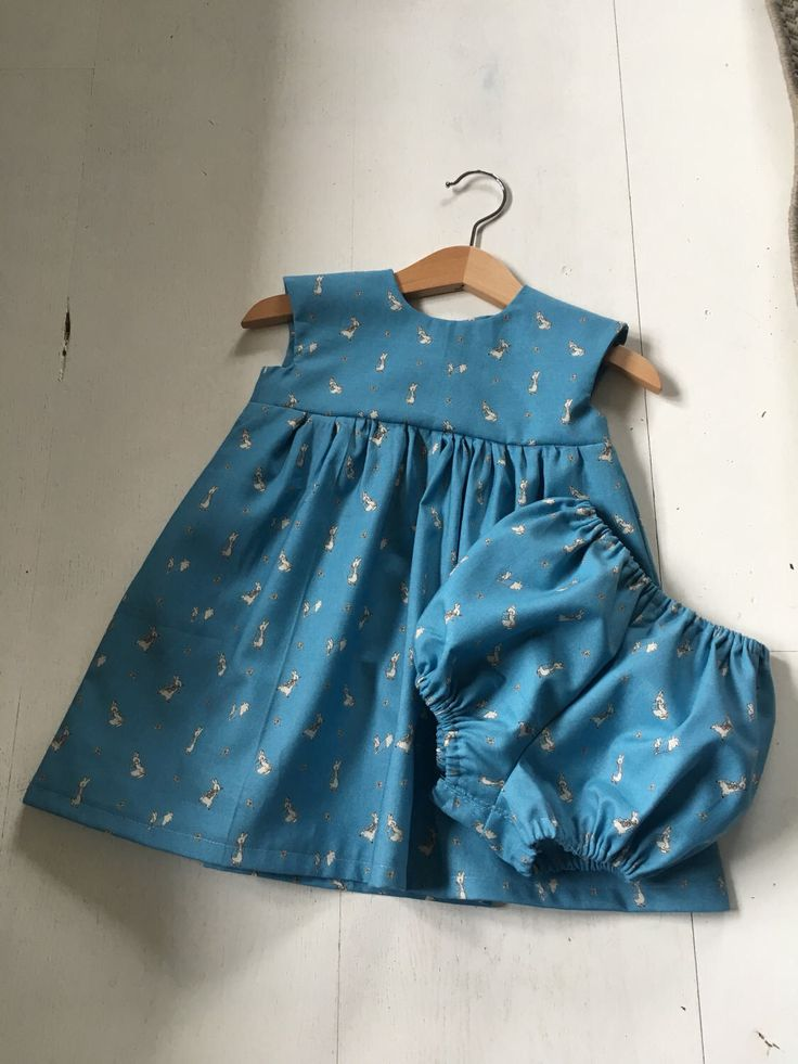 A personal favourite from my Etsy shop https://www.etsy.com/uk/listing/519062753/peter-rabbit-dress-set
