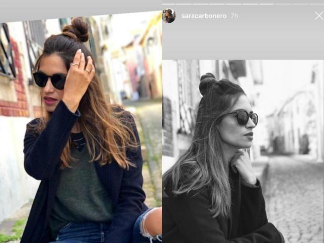 Sara Carbonero Y El Look Perfecto Para Cuando No Sabes Cómo Peinarte Peinados Nuevo Look Carbonero