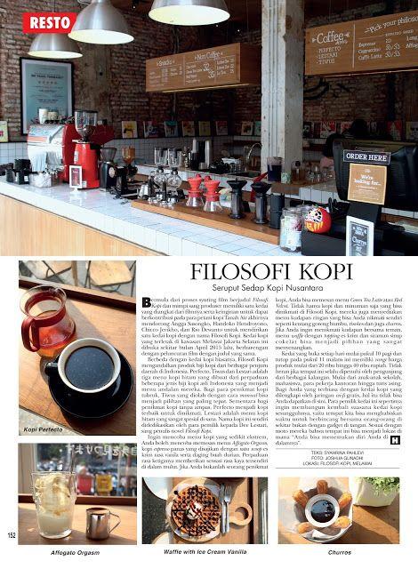 Gravity Around Me: Article on HELLO! Indonesia, Edisi Juli 2015. Filo...