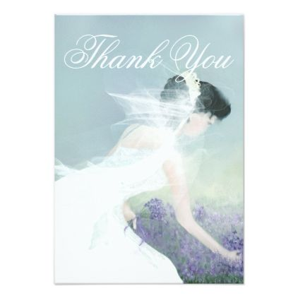 Wedding or Bridal Shower Thank You card - wedding thank you gifts cards stamps postcards marriage thankyou