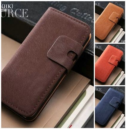 Soft Leather iPhone 5 Case