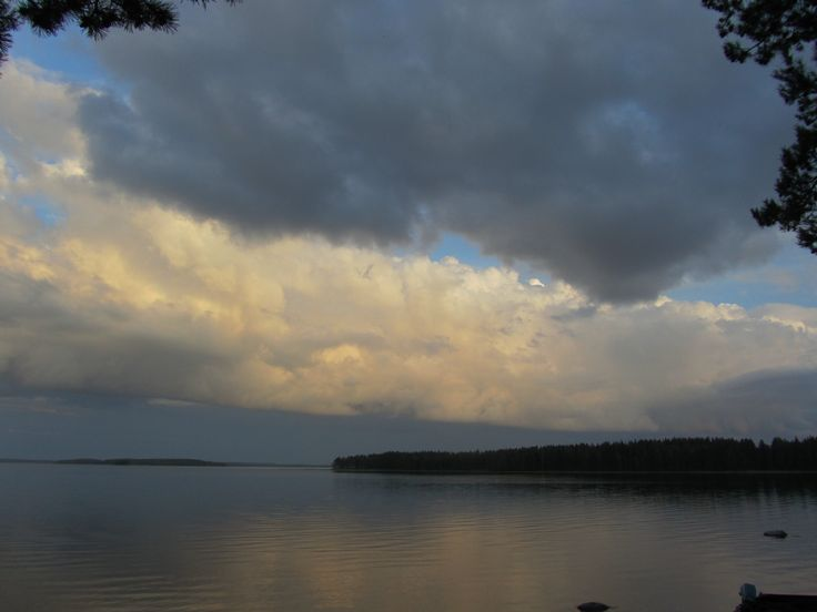 Lake Lentua in Kuhmo