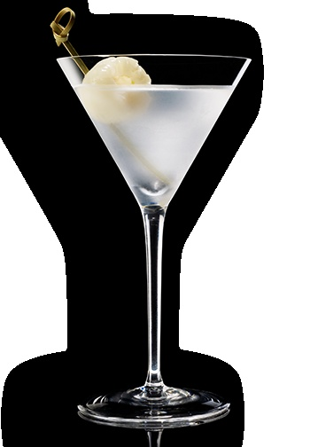 Lychee martini