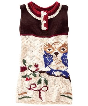 LK274 - Fab And Funky Owl Tunic  = cute