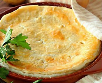 Рецепт пирога из картофеля в мультиварке