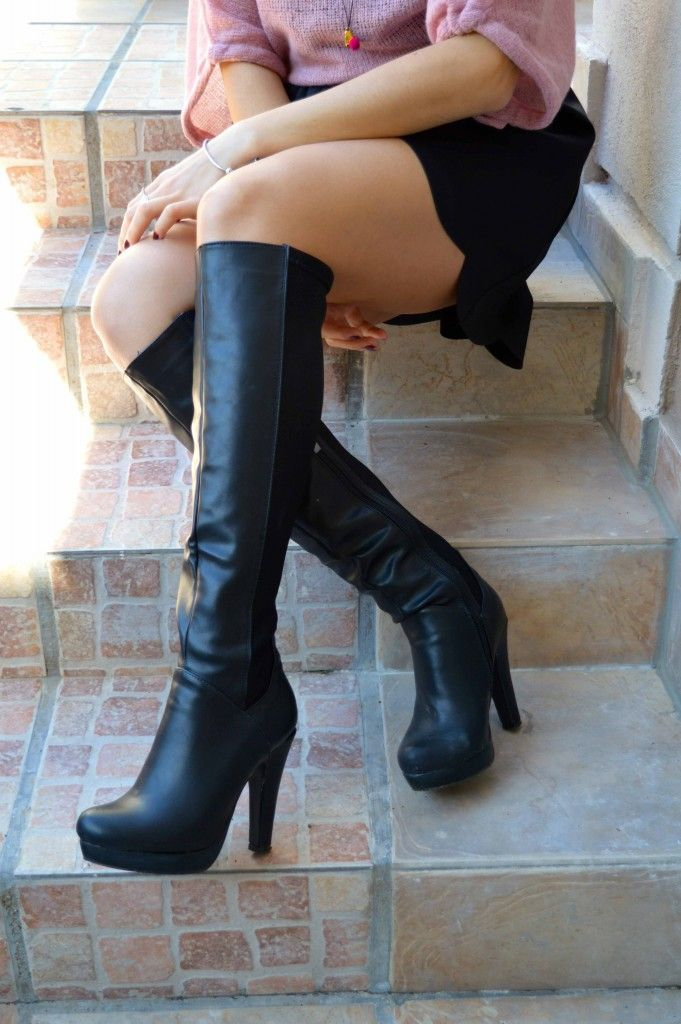 Love these boots #trend #sexy #shoes #boots #overthekneeboots #migato @migatoco