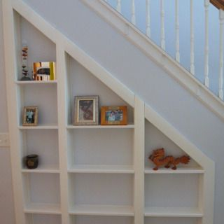 Hidden room under the stairs - what looks like simple storage actually opens up to a hidden room!