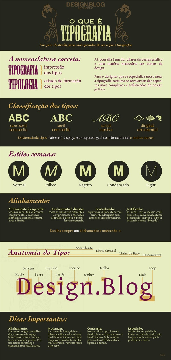 What Is Typography By Canha Berg