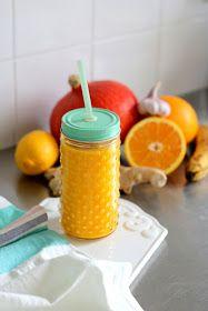 Pomarańcza dynia imbir
