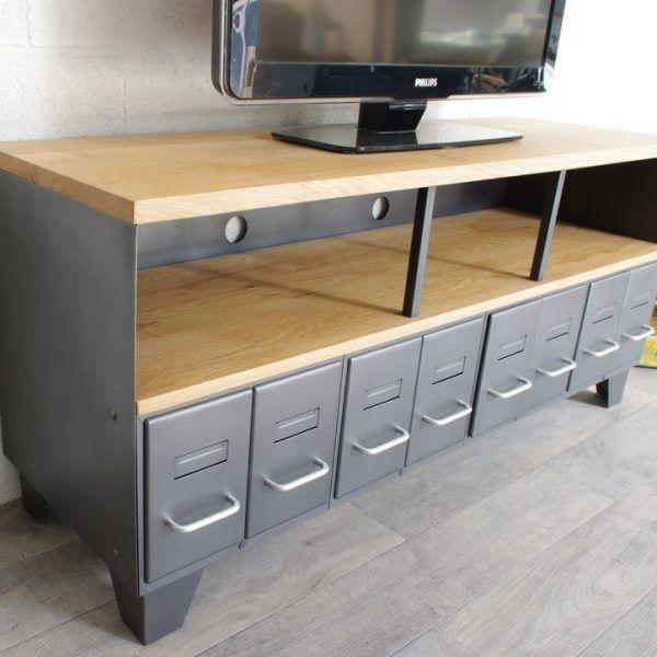 les 25 meilleures id es de la cat gorie meuble tv style. Black Bedroom Furniture Sets. Home Design Ideas