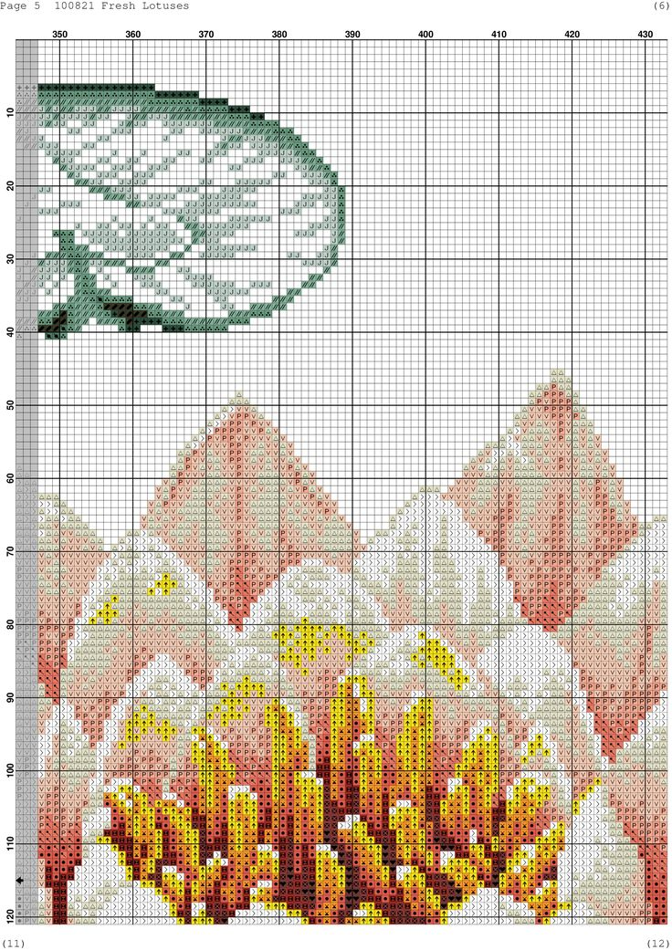 Cross-stitch patterns - Borduur patronen (6)