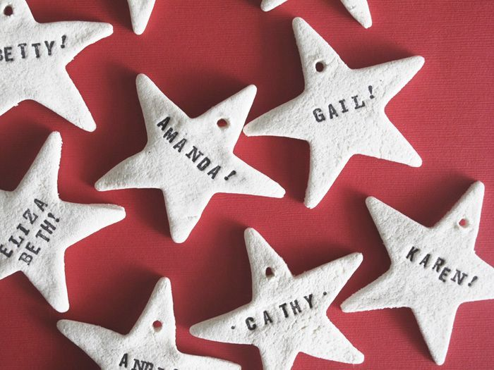 totally making these! and going to make hearts too for valentines! SALT DOUGH ORNAMENTS