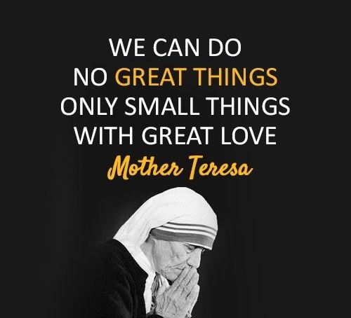 HitFull : 9 - Mother Teresa Quotes