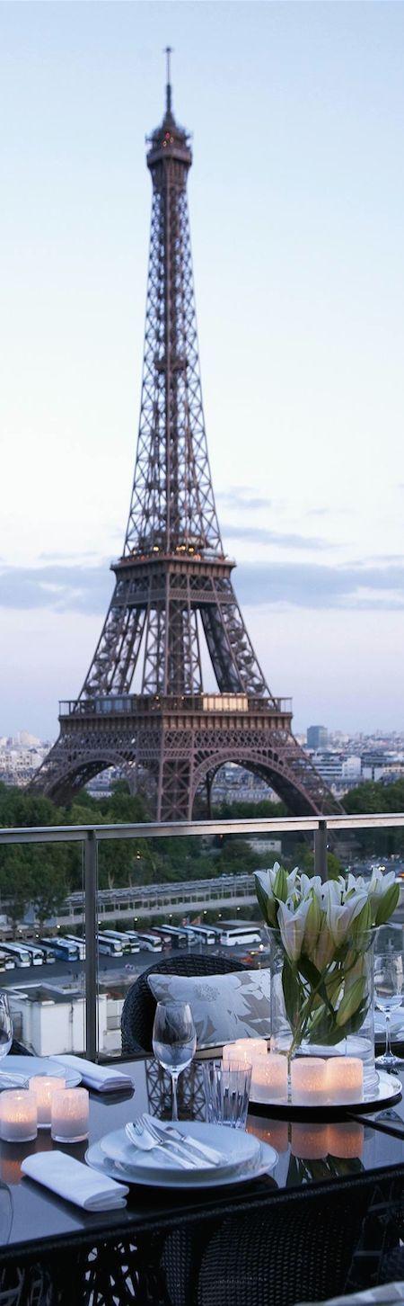 Taken from SHANGRI-LA Hotel....Paris...Eiffel Tower