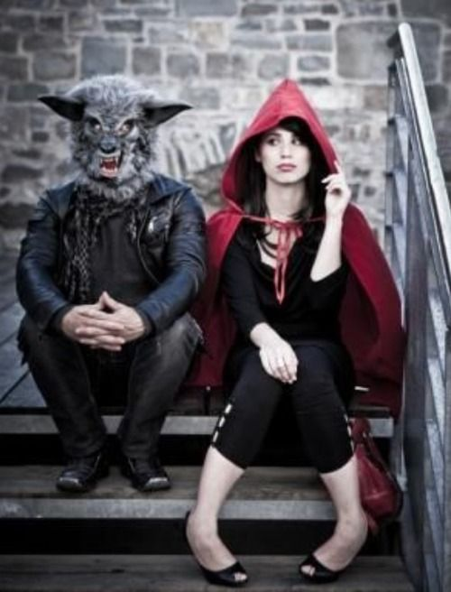 Halloween Costumes for you and your Loved One - Little Red Riding Hood and The Big Bad Wolf