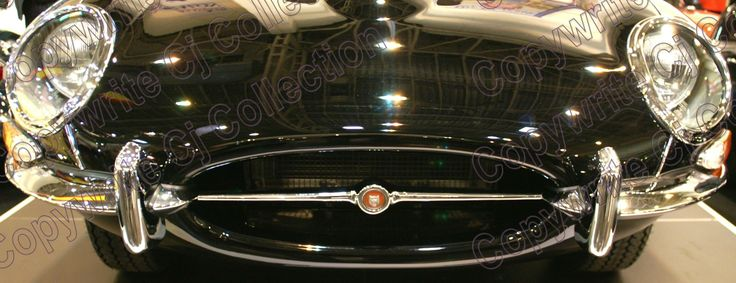 Jaguar E Type Print available on canvas by CJ Collections