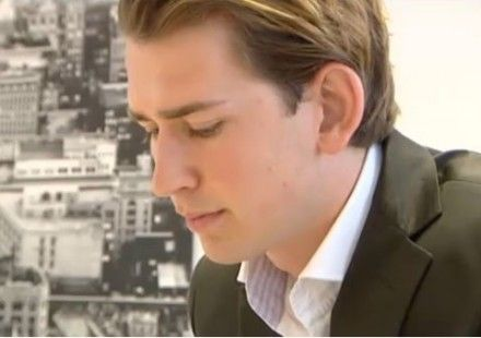 Sebastian Kurz, Austria's youngest ever foreign minister.